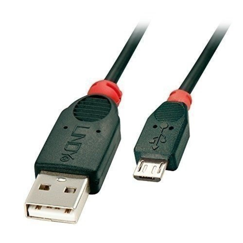 Lindy USB 2.0 Kabel A/Micro-B 2m USB High Speed