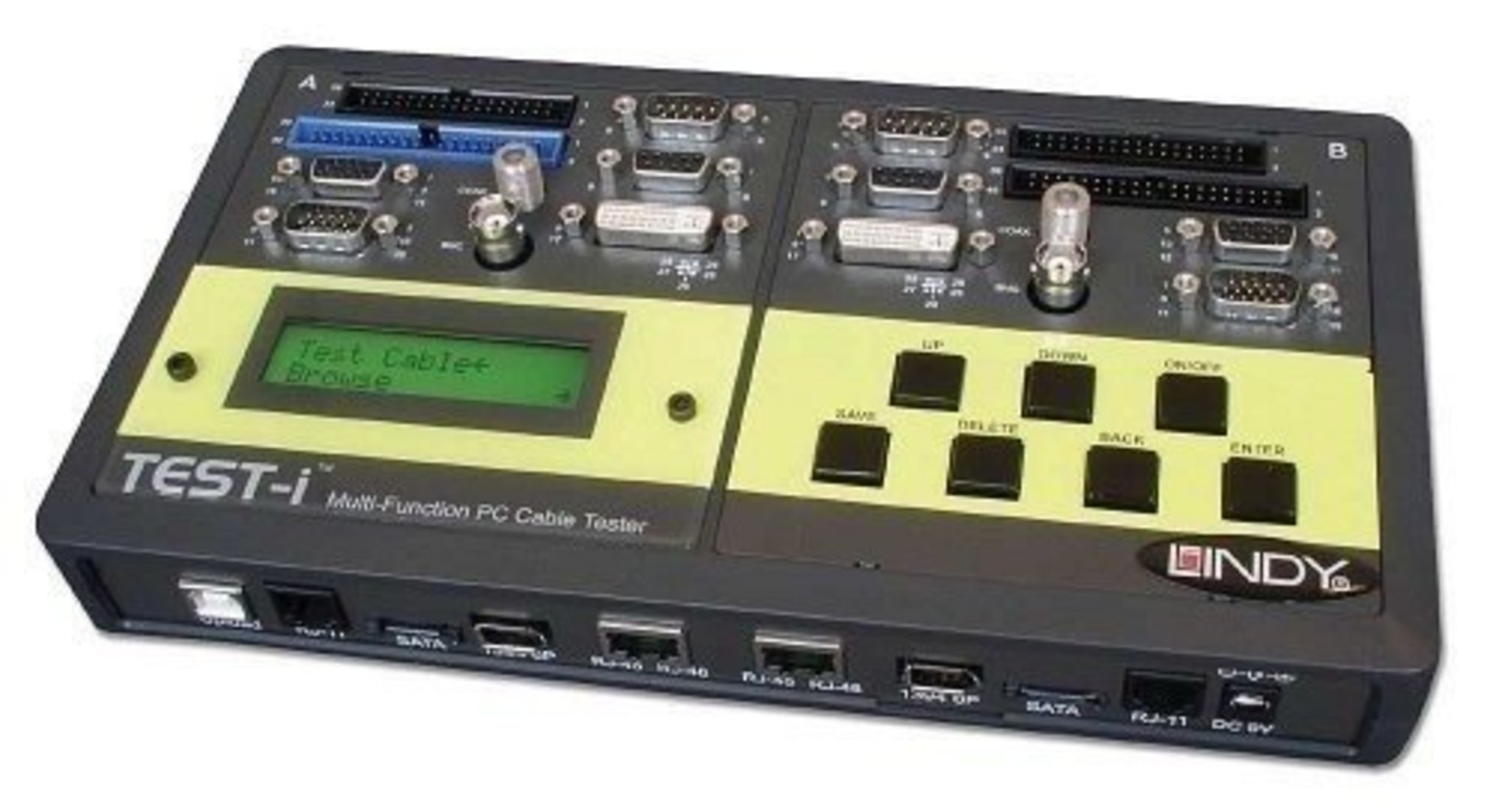 Lindy Multi-Kabeltester A & Digital Für DVI HDMI FireWire USB
