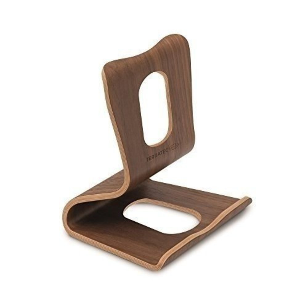 terratec holz eins tablet staender aus echtholz technik aus ber produkten. Black Bedroom Furniture Sets. Home Design Ideas