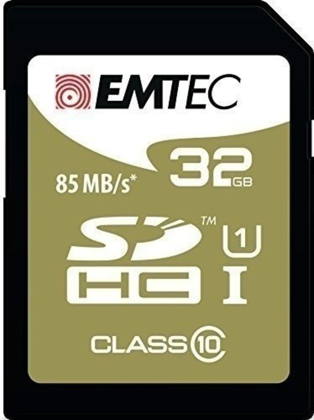 SD Card 32GB Emtec SDHC (CLASS10) Gold + Kartenblister
